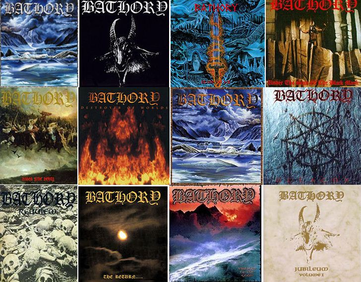 discografia do bathory